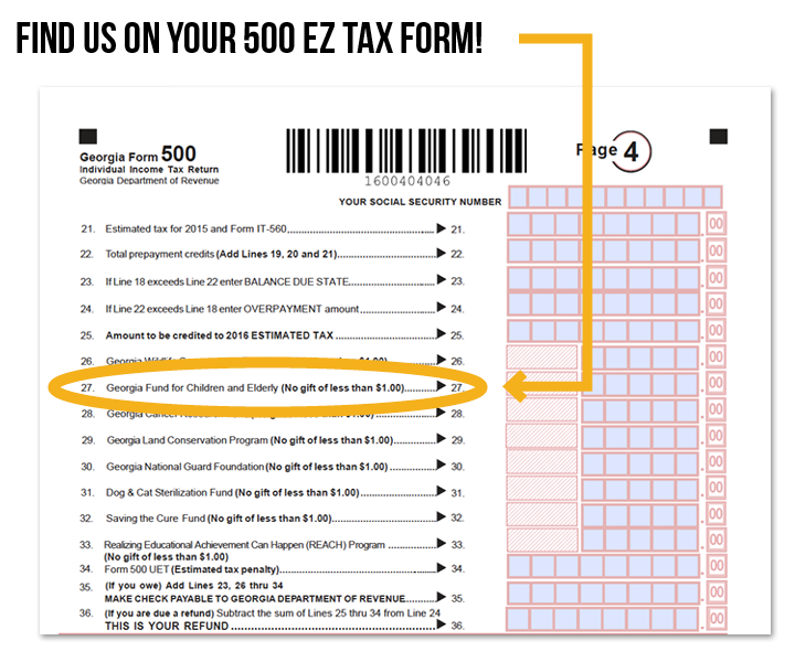 picture of a tax form